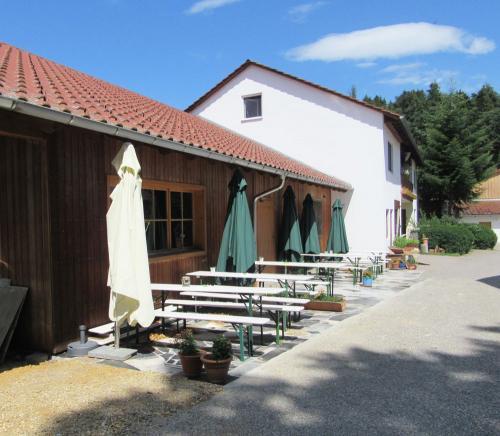 Biohof Butz Terrasse