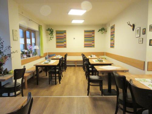 Reichlich Platz im Gabelsberger Hofcafé