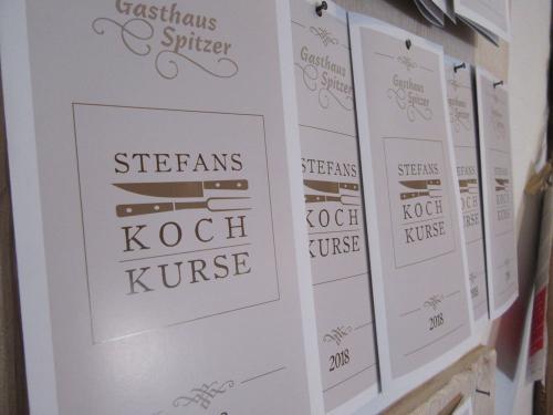Kochkurse im Gasthof Spitzer