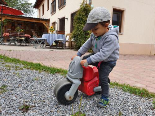 Erste Ausfahrt mit dem Motorrad