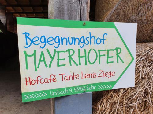 Da geht's lang zum Mayerhofer!